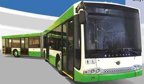Автобус Волжанин CityRhythm 18